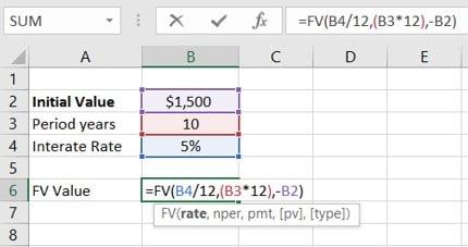FV Function