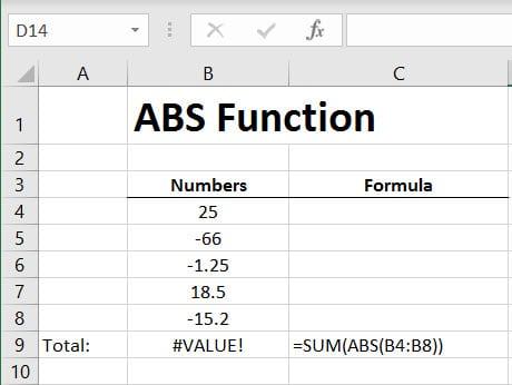 ABS Error